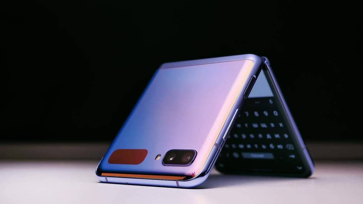 Новый смартфон может быть похожим на Galaxy Z Flip