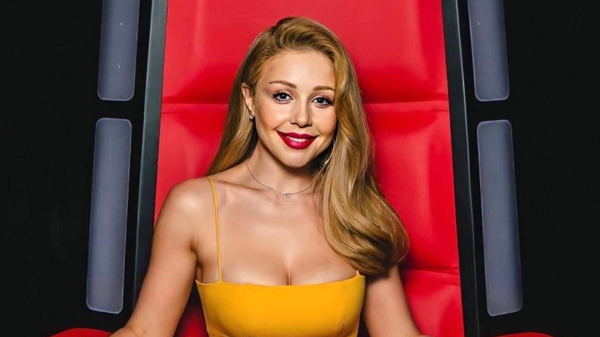 """Тина Кароль выбрала сексуальное платье для эфира """"Голоса страны-10"""" -  Последние новости Украины - Lifestyle 24"""