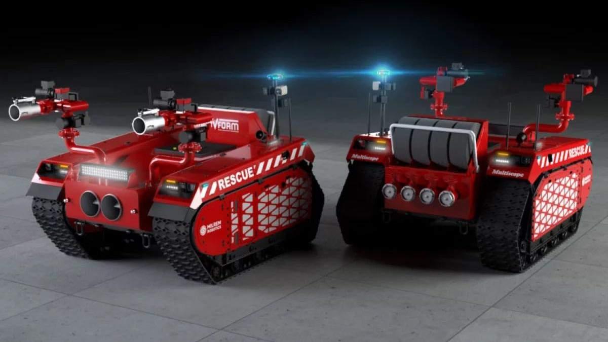 Роботы-пожарные Multiscope Rescue