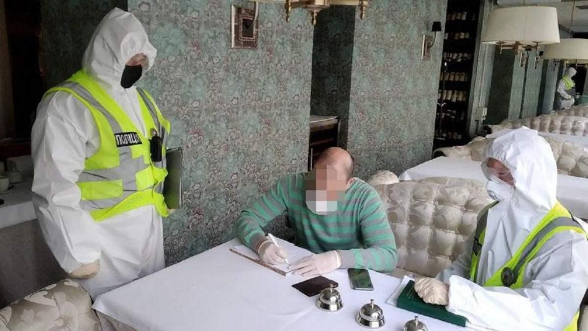 """Полиция проверила ресторан Тищенко, а """"слуги народа"""" заявили, что не будут покрывать коллегу"""