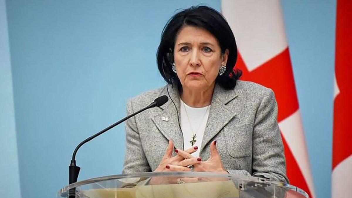 Неприемлемо и непонятно: реакция президента Грузии на назначение Саакашавили в Кабмин