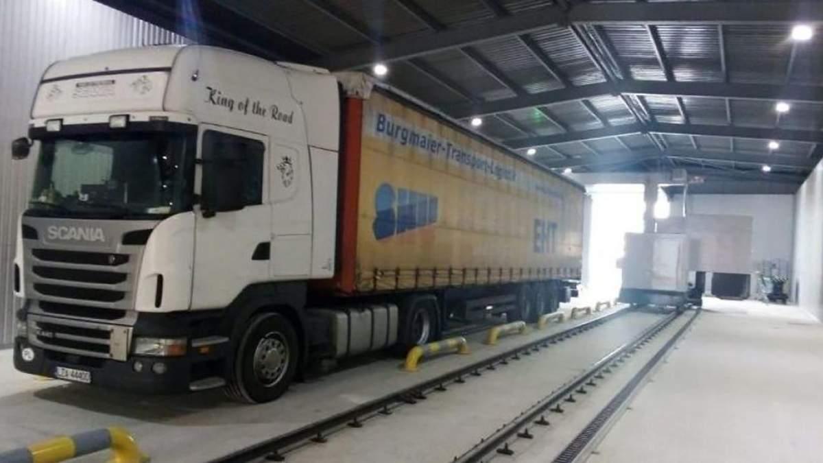 Сканери для перевірки вантажу на українських митницях
