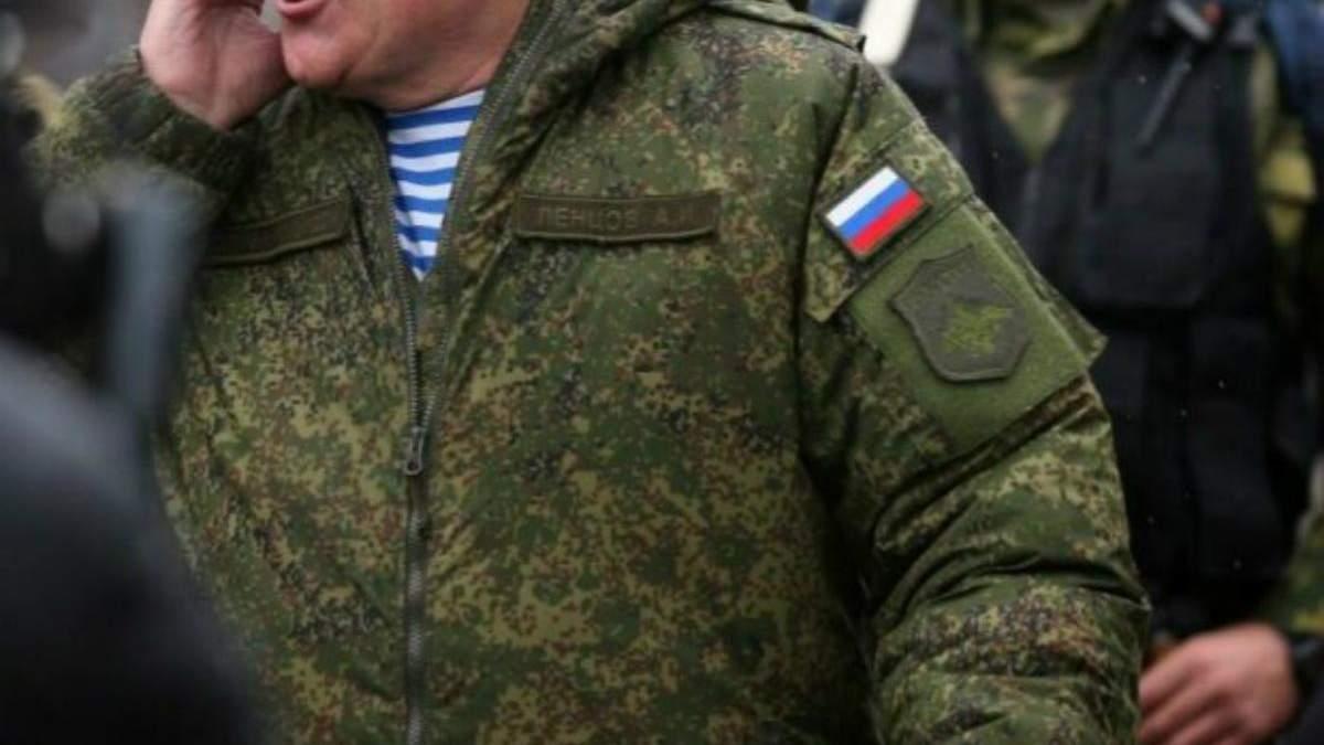 Российские офицеры на Донбассе