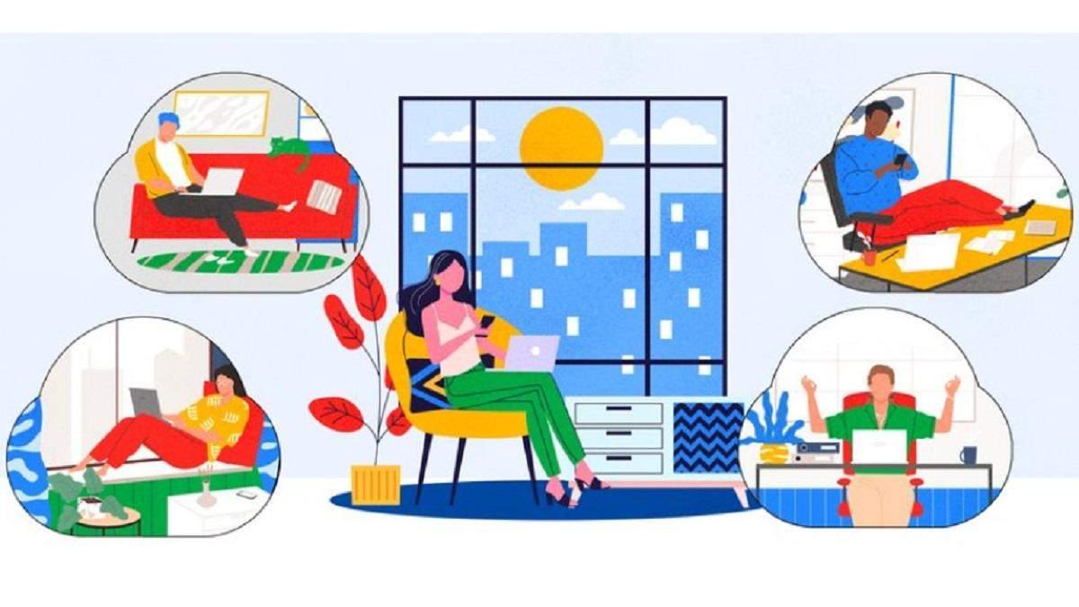 Google Meet получит свободный функционал
