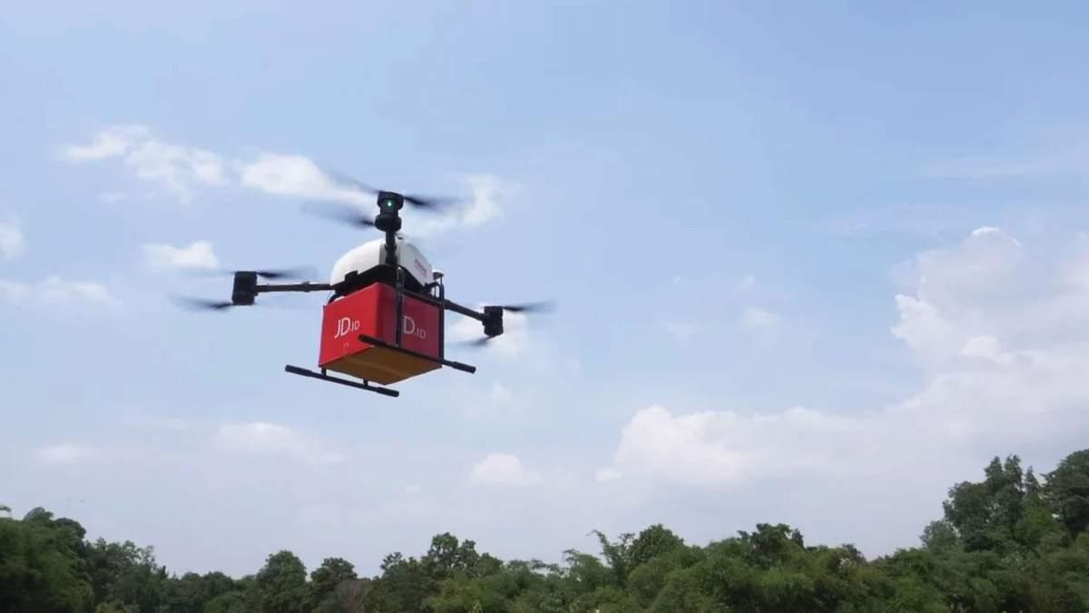 Доставка дронами може бути шкідливою