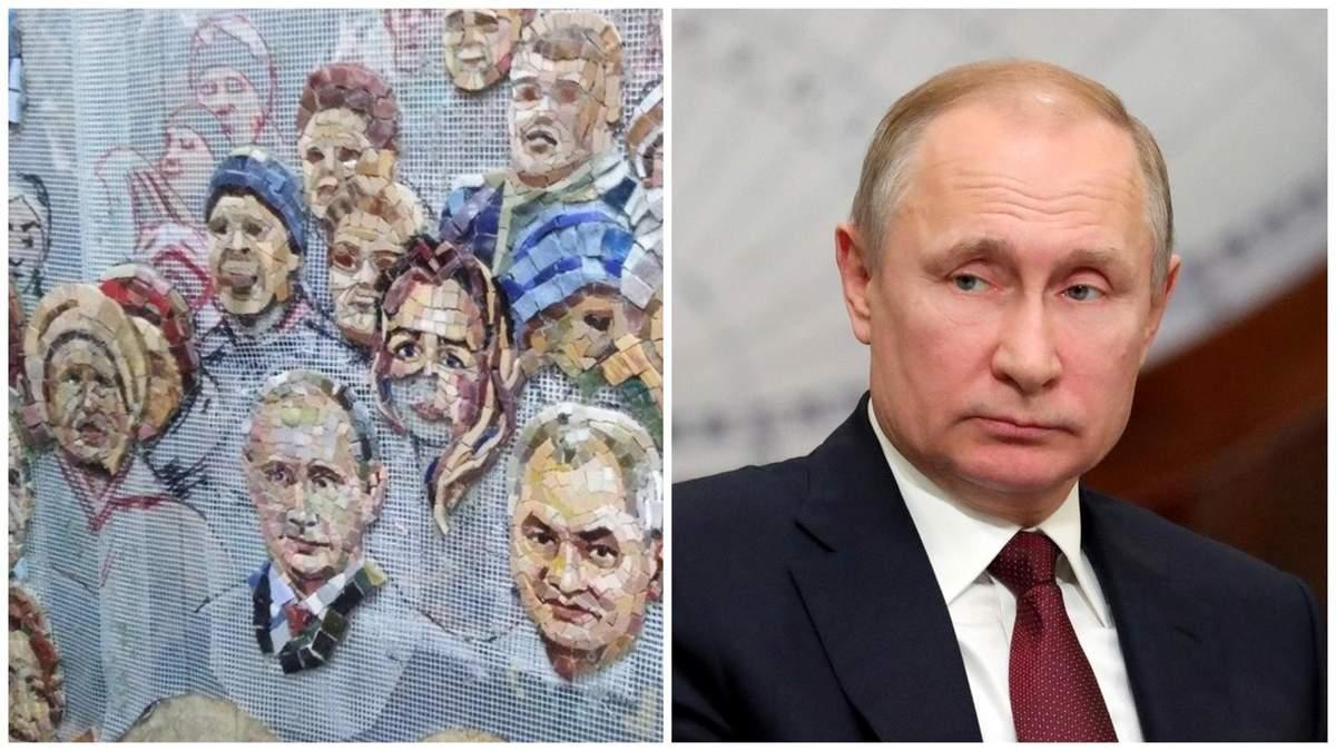 Путін – більше не ікона: зображення президента РФ прибрали з храму міноборони