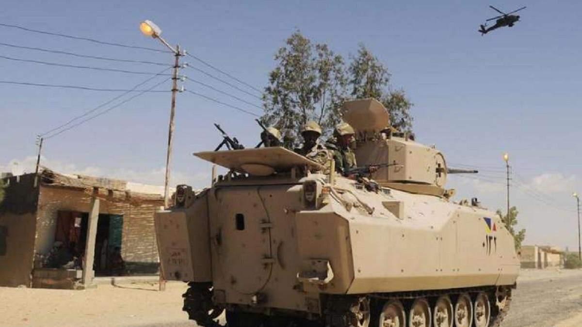 В Єгипті стався теракт: загинули та постраждали військові