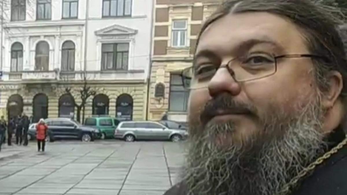Скандал УПЦ МП та Молодого Буковинця в Чернівцях: відео