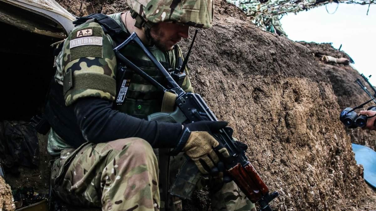 Вследствие вражеских обстрелов двое украинских воинов получили ранения, – Минобороны