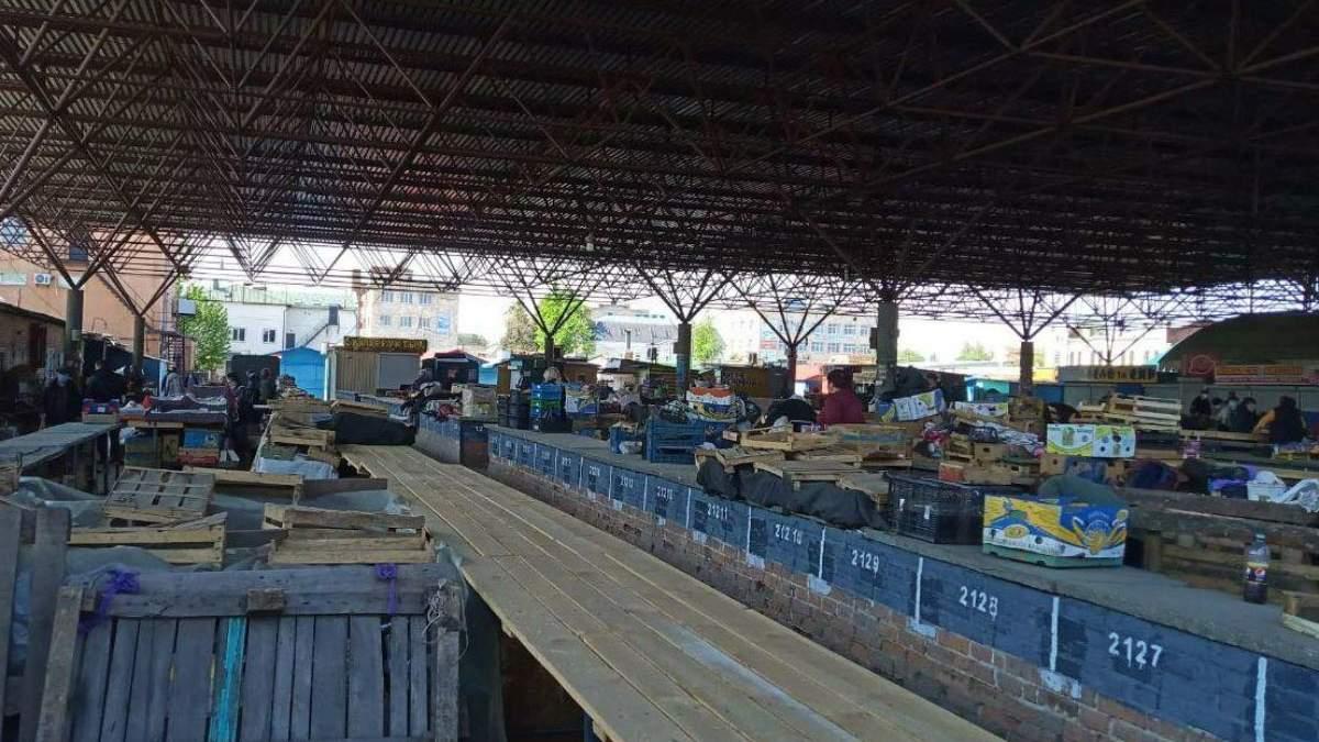 У Полтаві пригрозили закрити центральний ринок, він єдиний в місті відкрився після карантину
