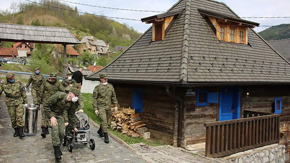 Російських військових медиків не впустили в Боснію та Герцоговину