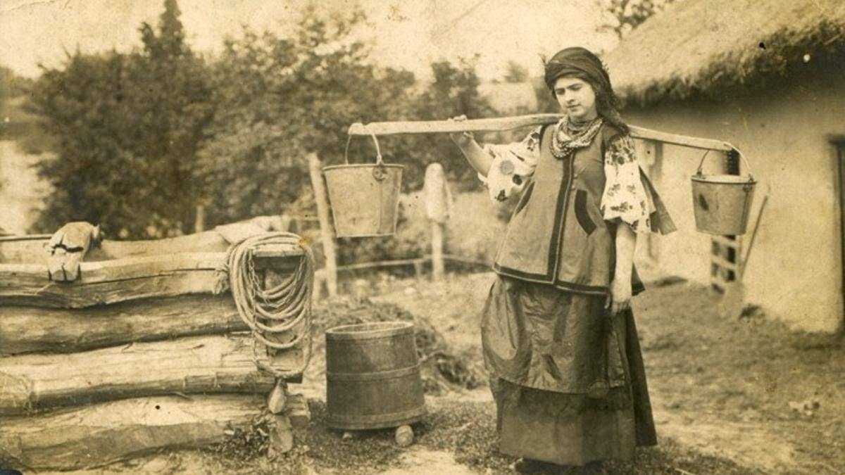 Українки 100 років тому