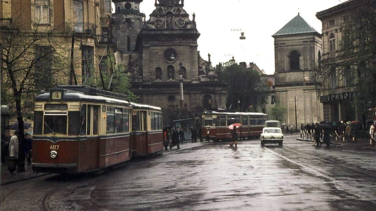 Історичні фото львівських трамваїв
