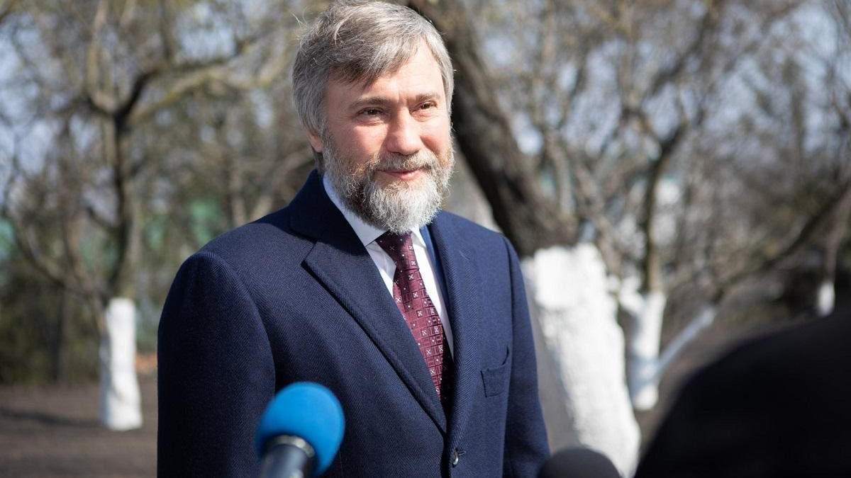 Нардеп Новинский заявил, что оправился от коронавируса