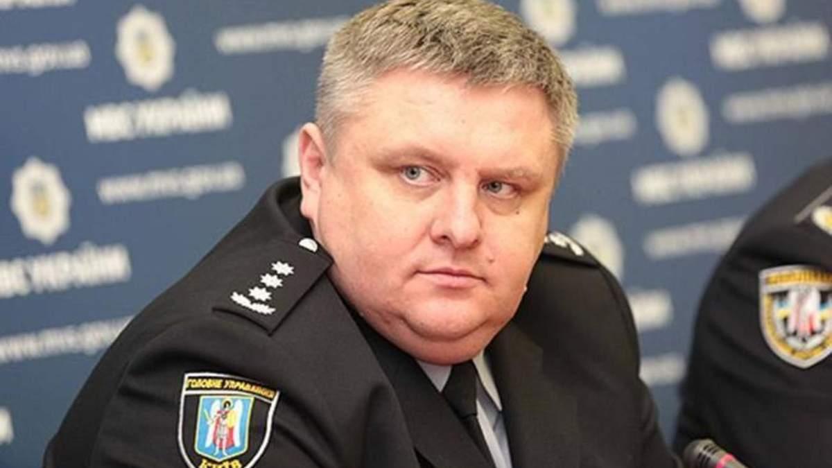 Начальник полиции Киевщины Андрей Крищенко оправился от коронавируса