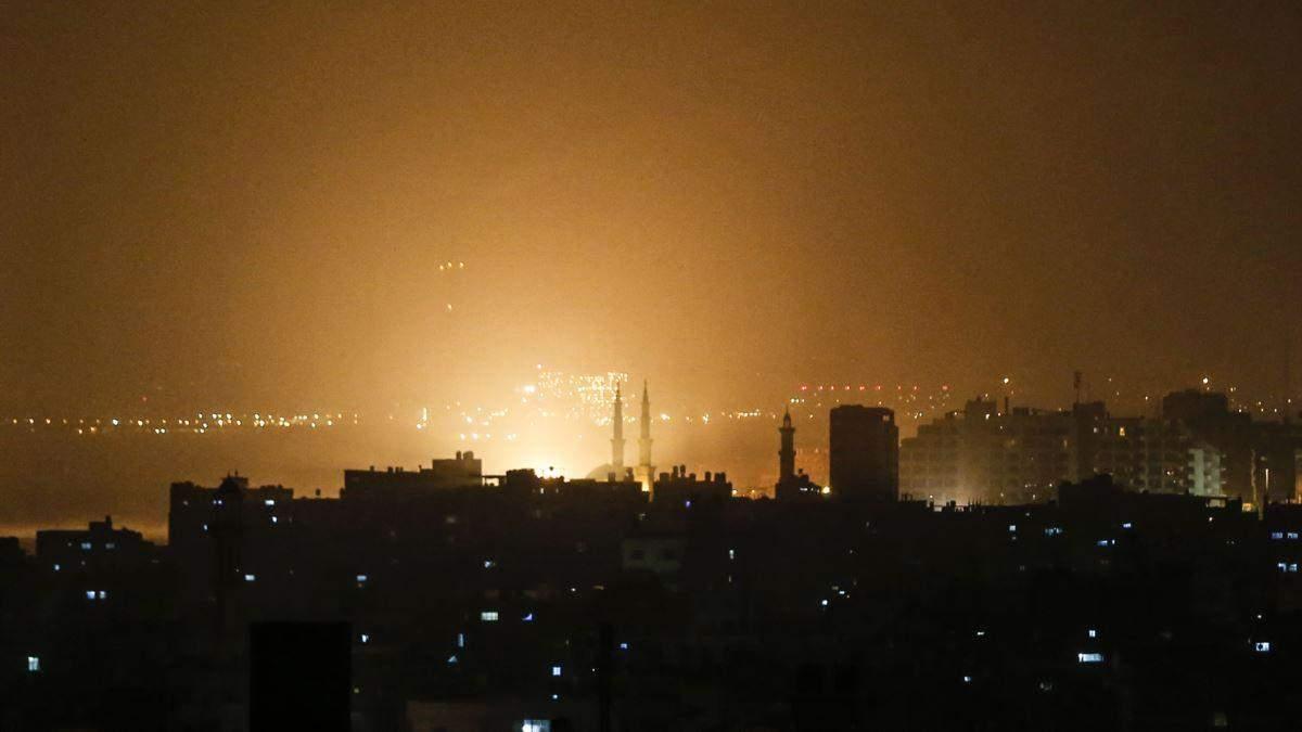 Ізраїль атакував позиції угруповання ХАМАС