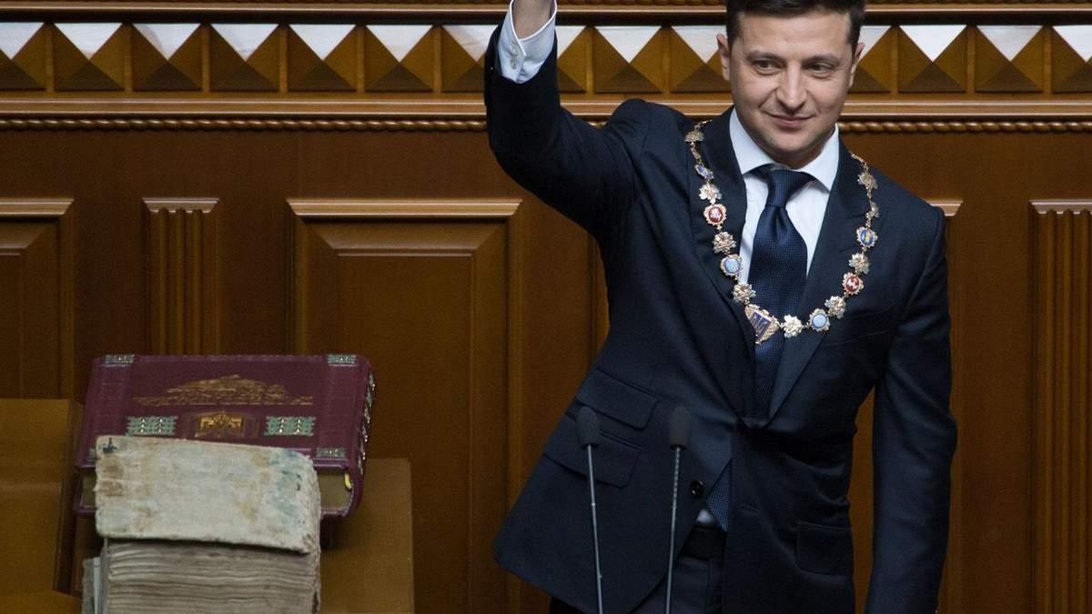 Сколько заработал Зеленский за год на посту президента Украины