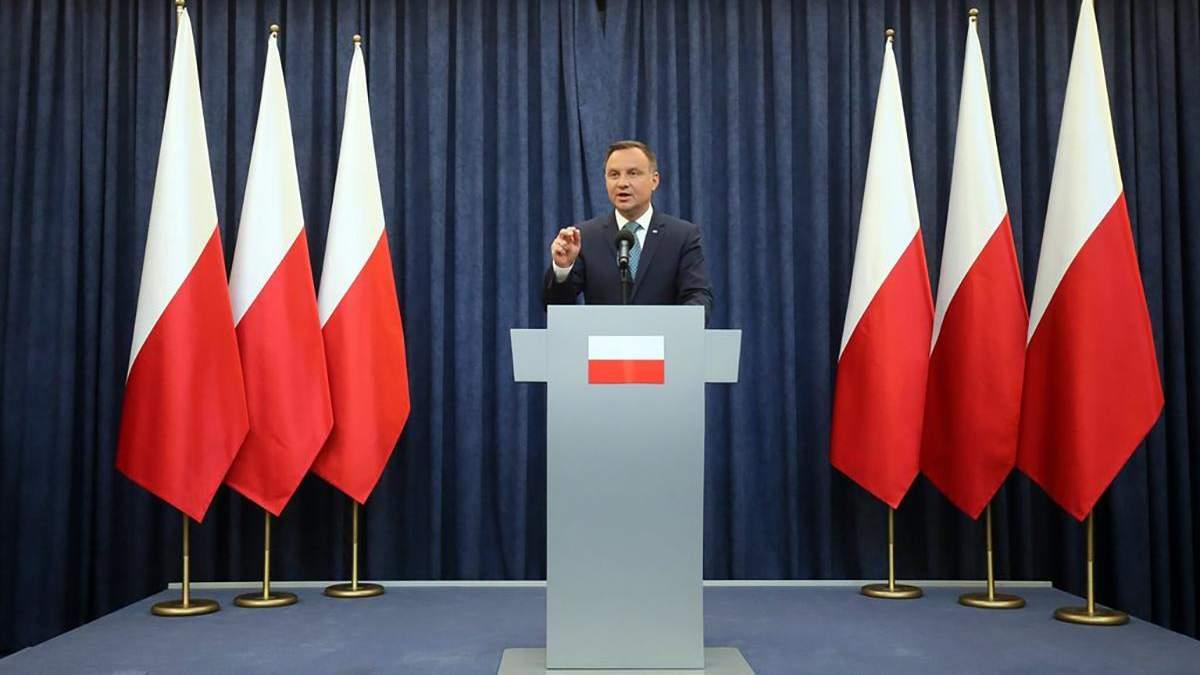 Вибори президента Польщі поштою 2020 – Дуда підписав закон