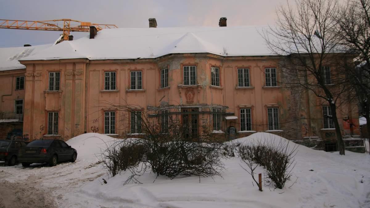 Дворец Бесядецких, Львов – нужна реставрация: причина, фото