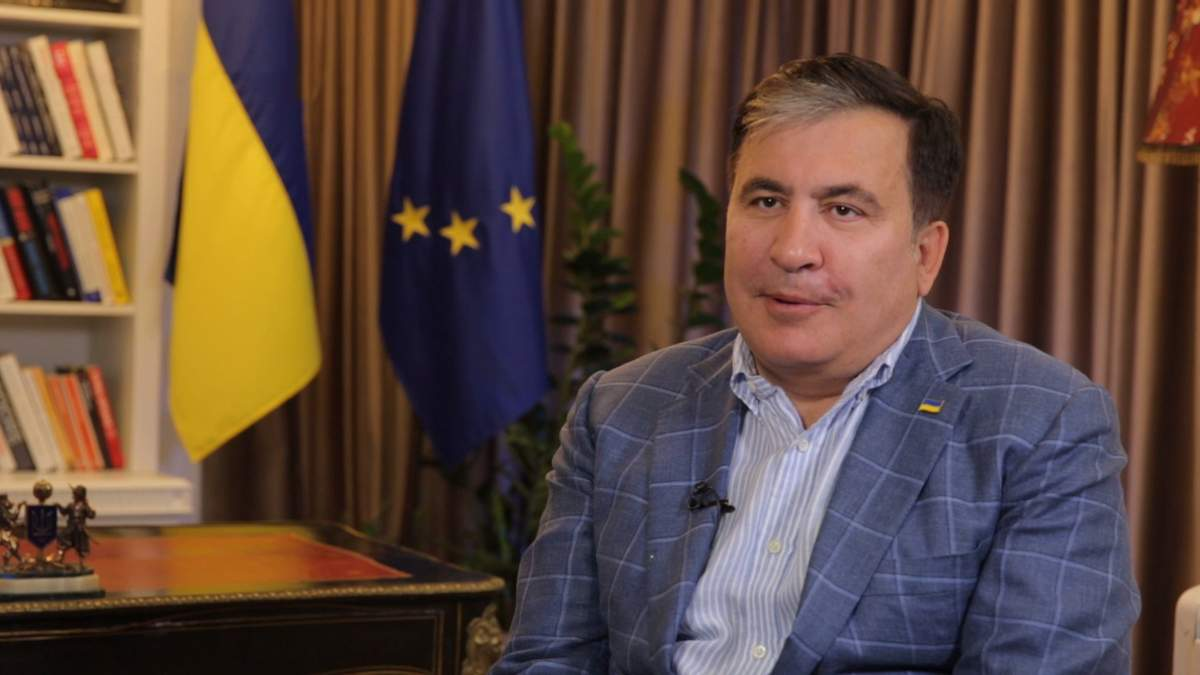 Интервью с Михеилом Саакашвили