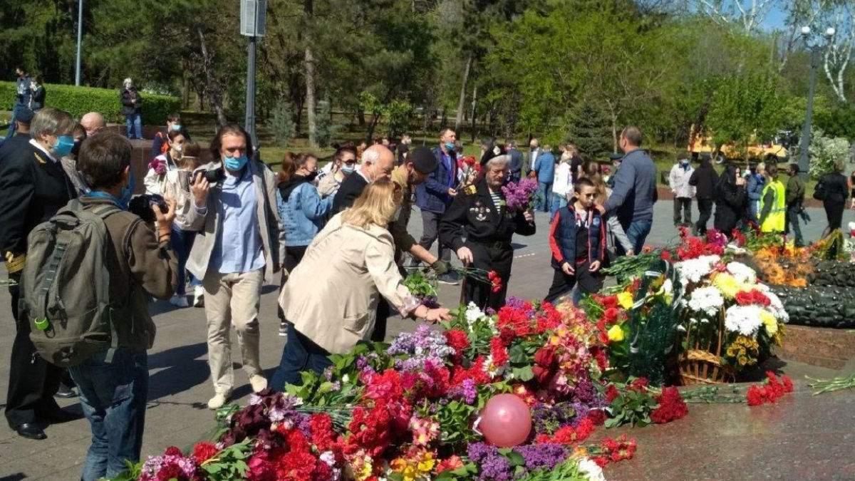 Вшанування Дня Перемоги в Одесі