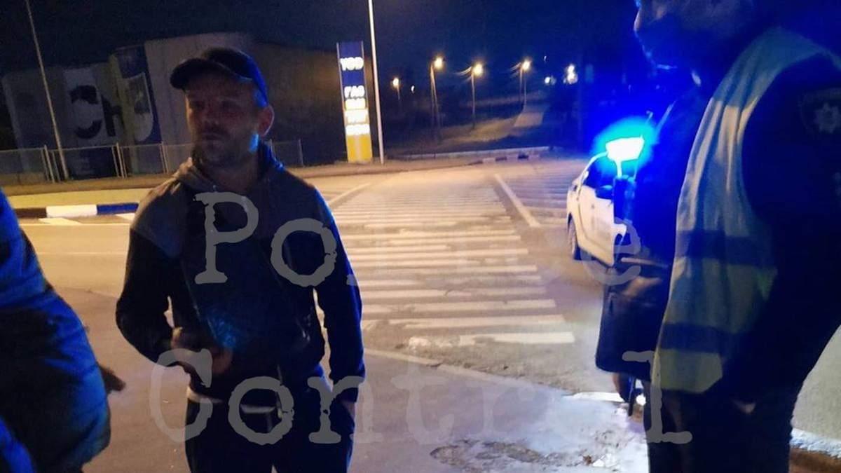 П'яна втеча на авто від поліції у Харкові: за кермом був учасник стрілянини на Клочківській