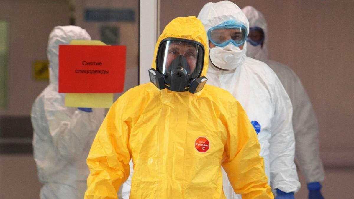 Радушный прием коронавируса в России