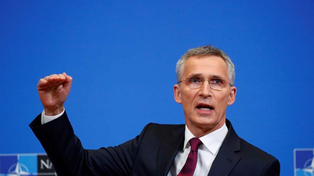 Єнс Столтенберг поровів онлайн-нараду представників НАТО та ООН