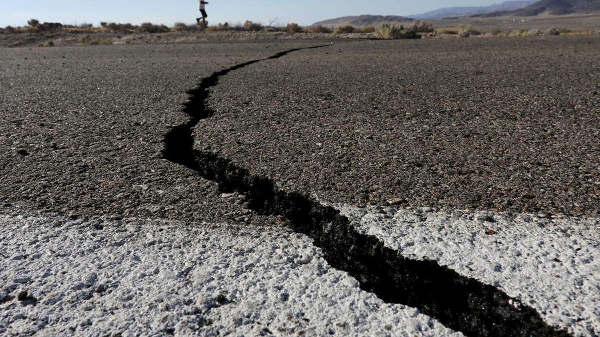 Землетрус у США в штаті Невада 15 травня 2020 – відео