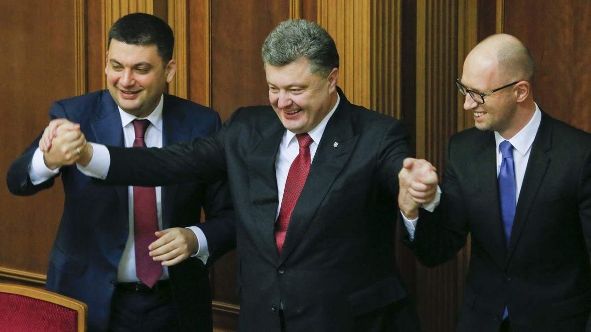 Порошенка і Яценюка допитають в суді 15.06.2020 через анексію Криму