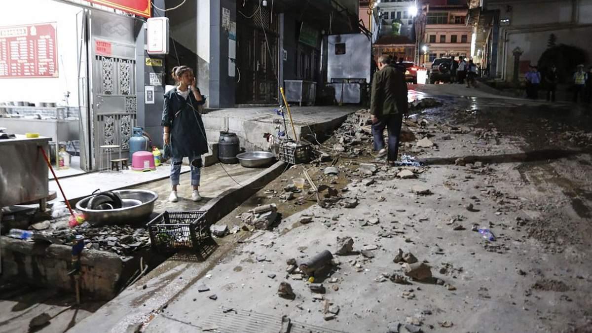 Наслідки землетрусу в Китаї