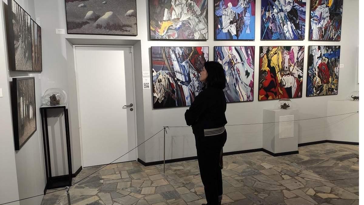 Выставка Ивана Марчука в Киеве