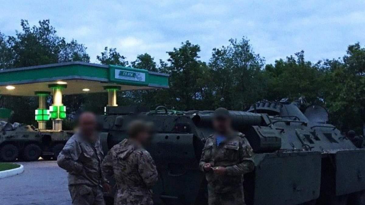Військова техніка в Донецьку 20 травня - мобілізація бойовиків