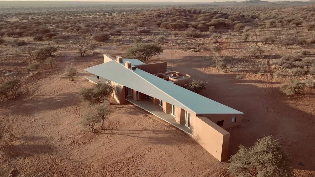 Будинок увібрав в себе традиції народу Намібії