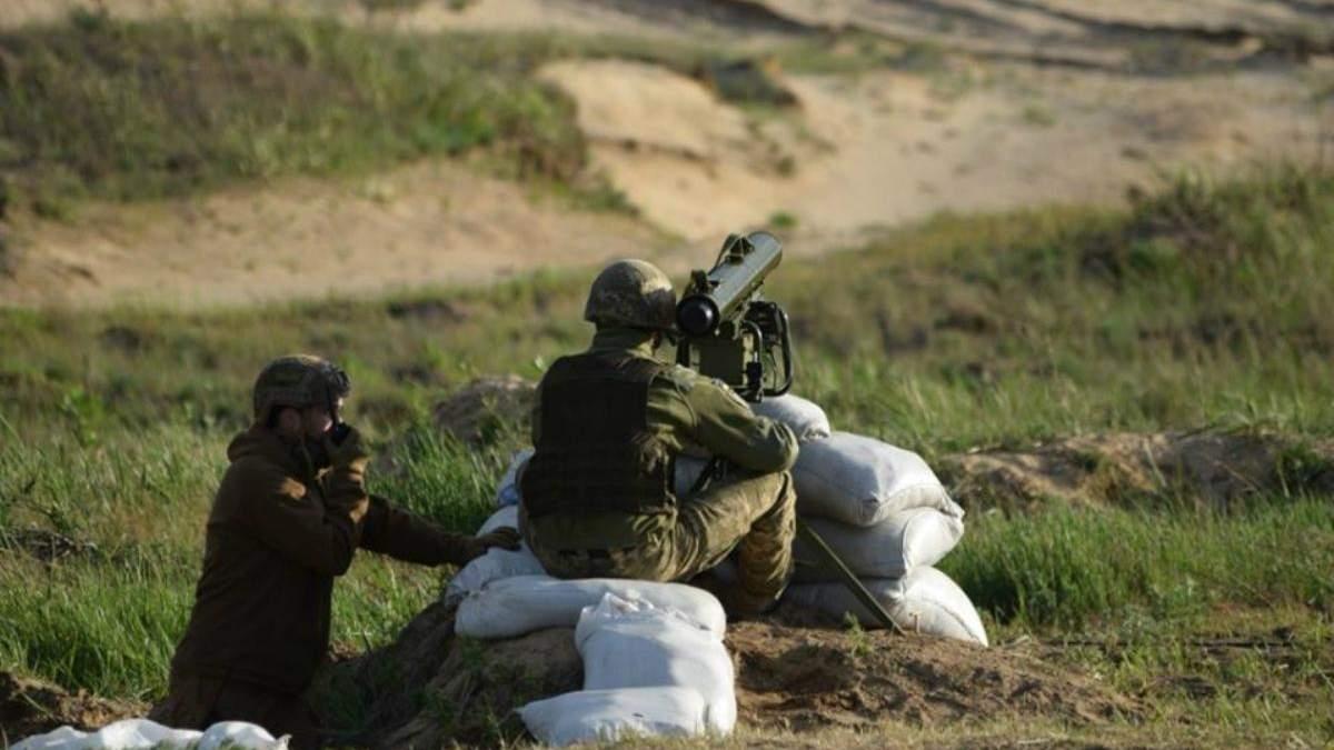 """Українські військові випробували ракетний комплекс """"Корсар"""": він здатен пробити броню танка"""