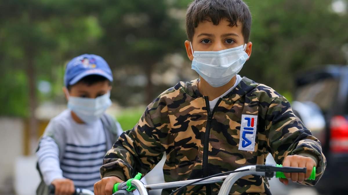 Діти в дитсадках мають носити маски