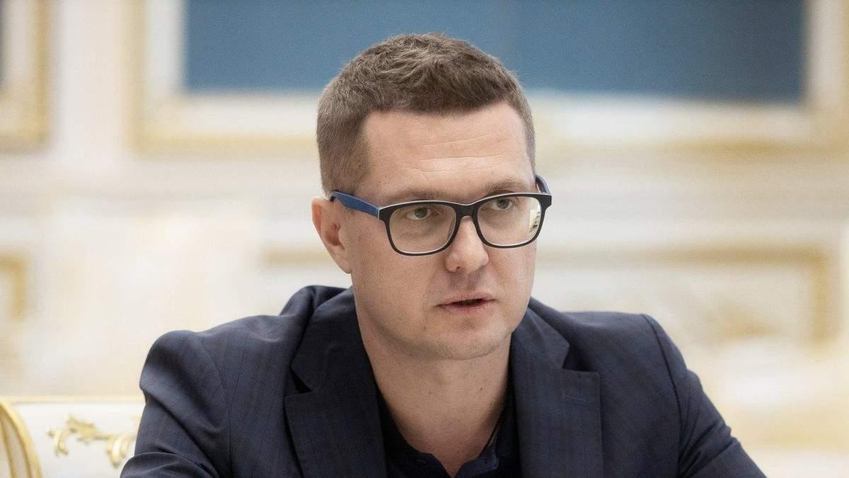 Очільник СБУ Іван Баканов