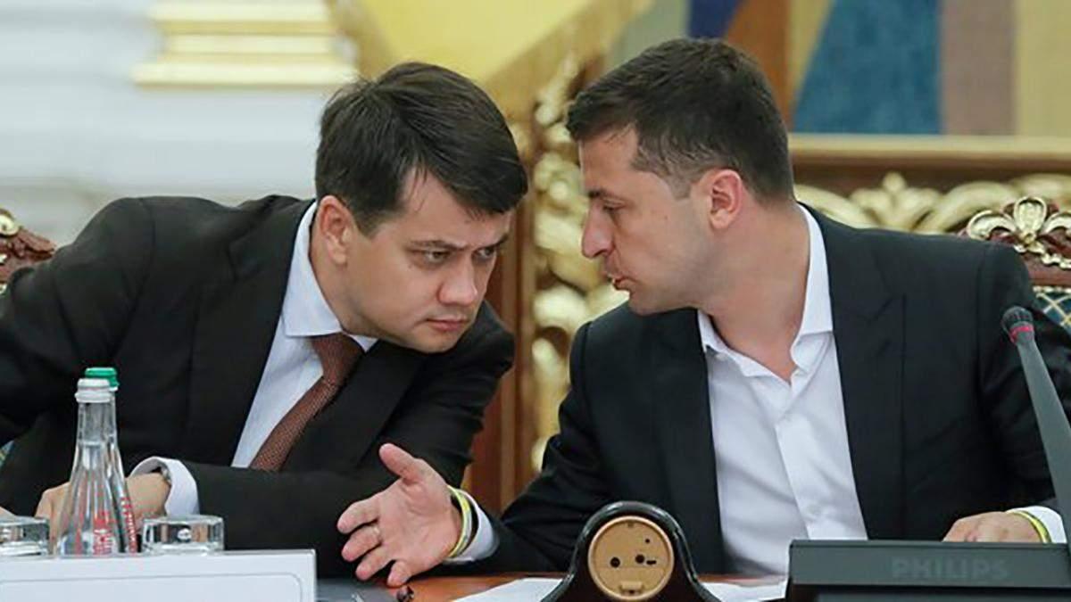Разумков рассказал о личных отношениях с президентом Зеленским