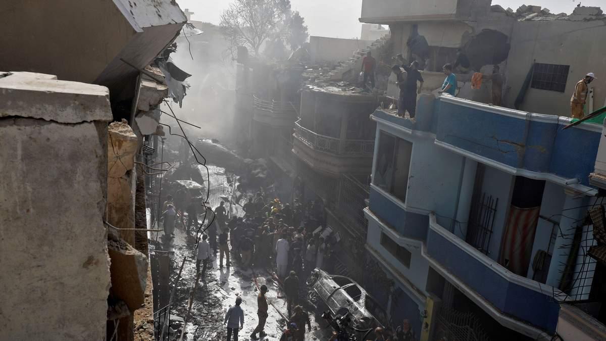 Авикатастрофа в Пакистане: комментарии спасенных в аварии