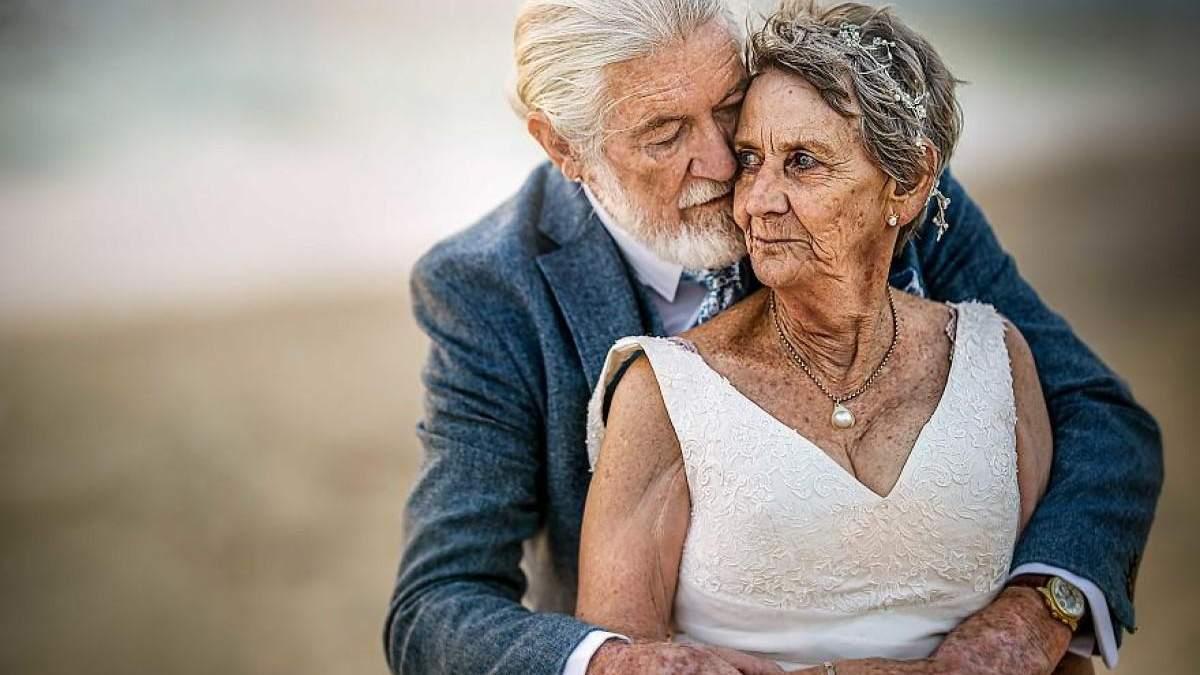 Закохана пара, яка вже 55 років у шлюбі