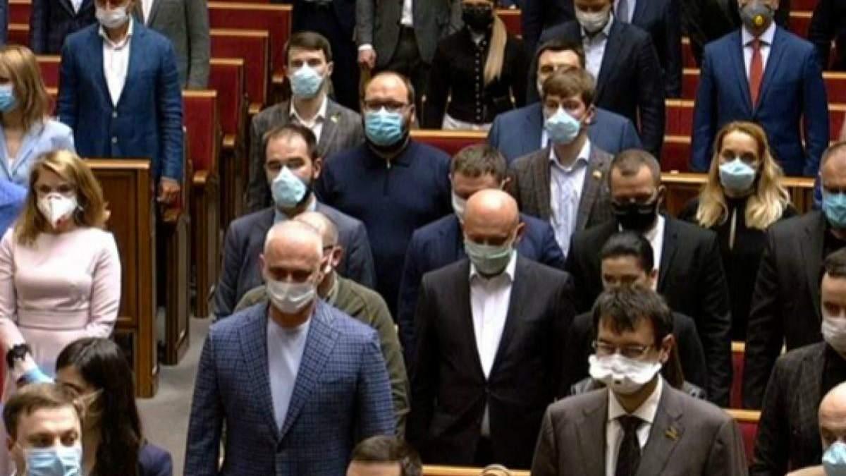 Депутаты сдали тест на коронавирус