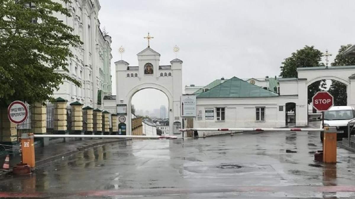У Києво-Печерській лаврі та двох монастирях у Києві зняли карантин