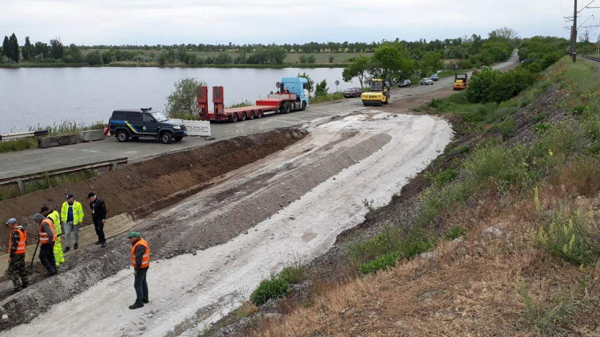 Обвал мосту під Нікополем: що з ним тепер буде – фото