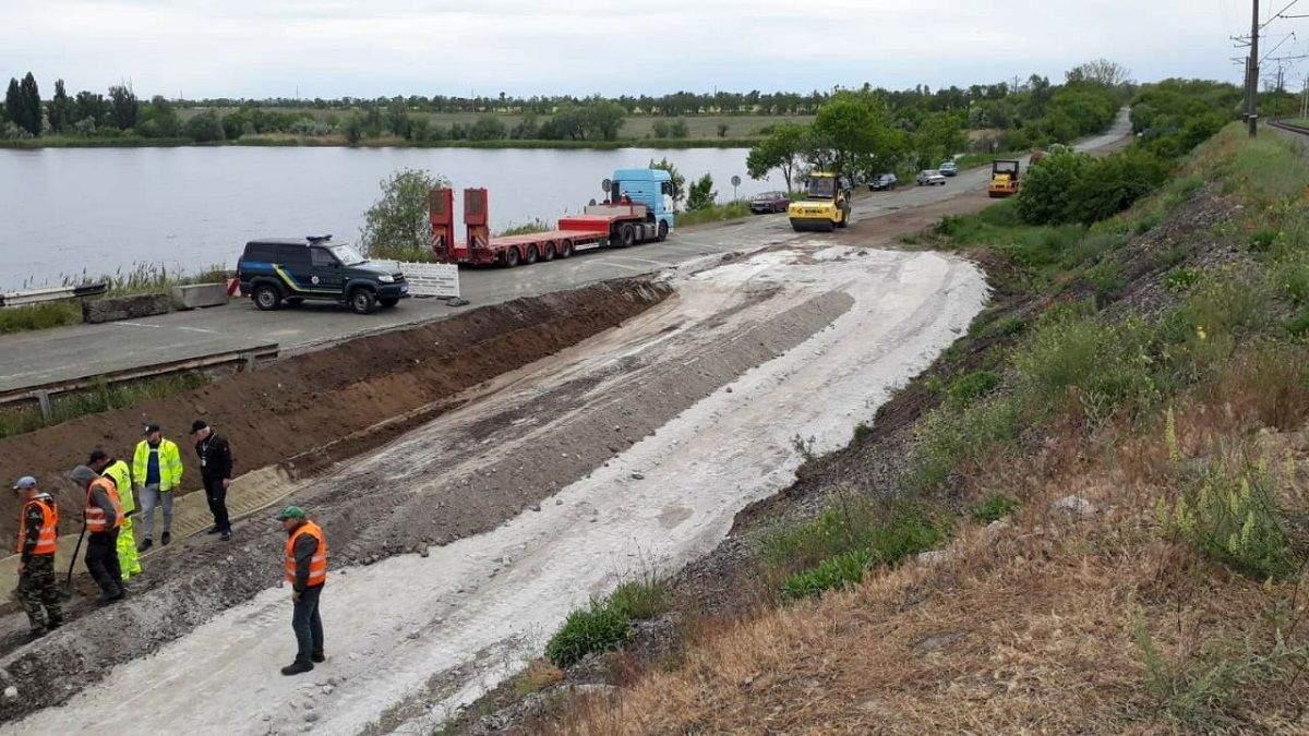 Обвал моста под Никополем: что с ним теперь будет – фото