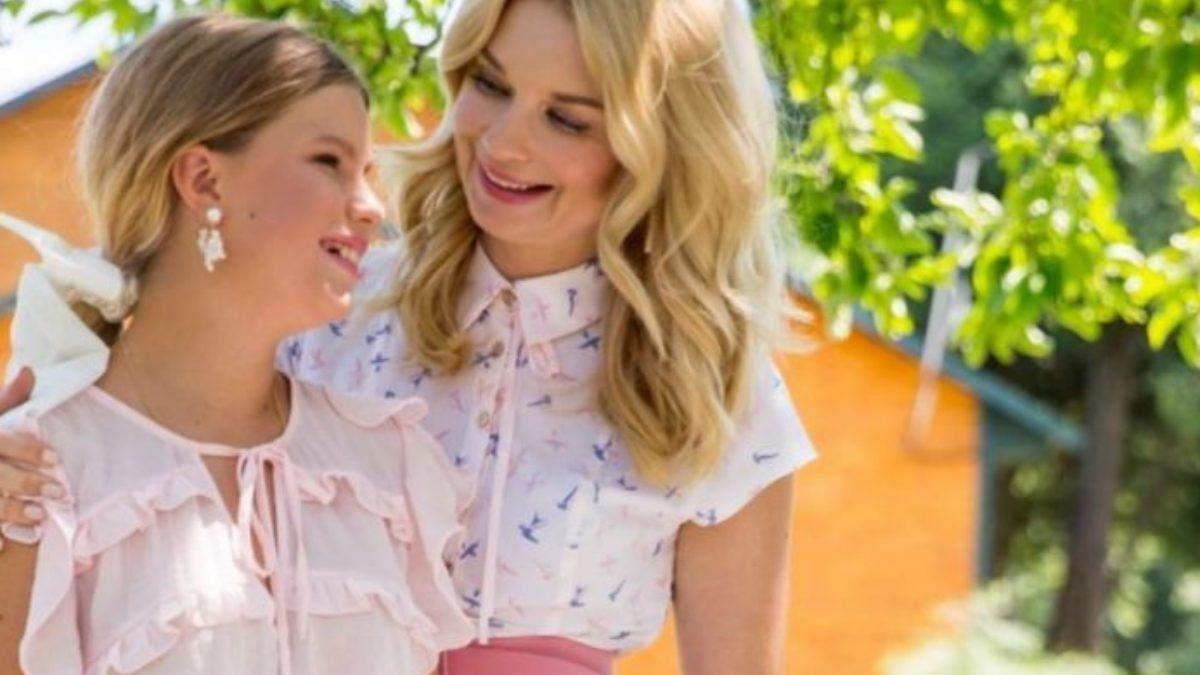 Лідія Таран зі своєю донькою Василиною