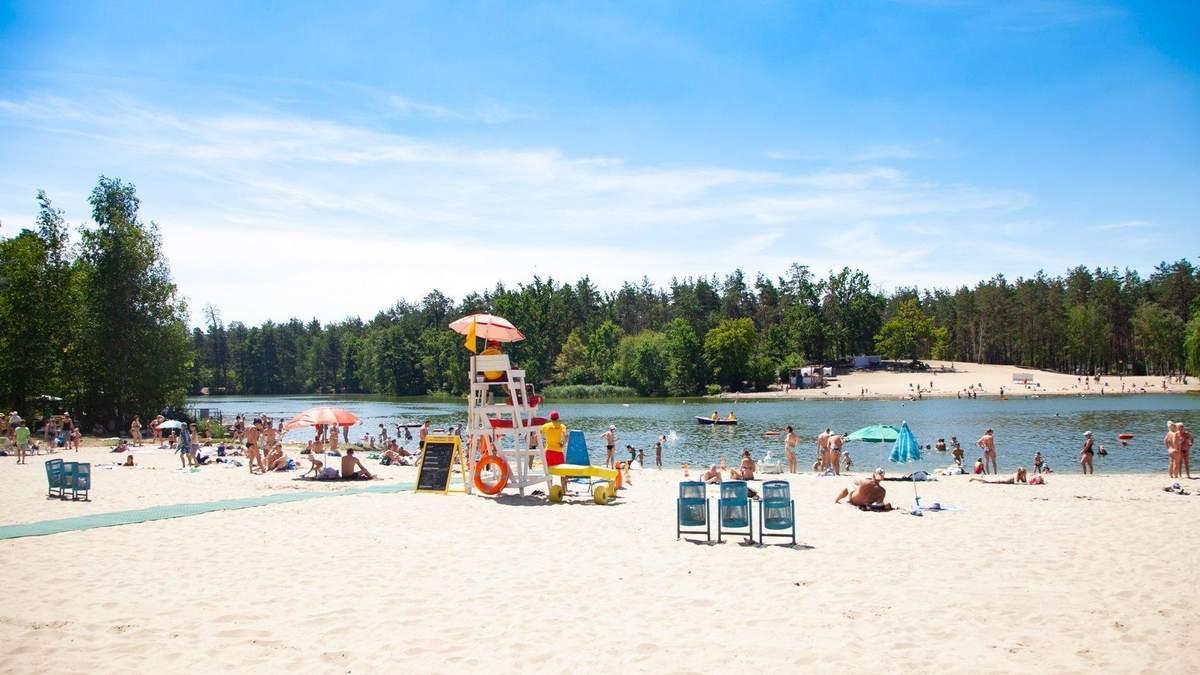 Пляжи в Киеве не откроются 1 июня: причина