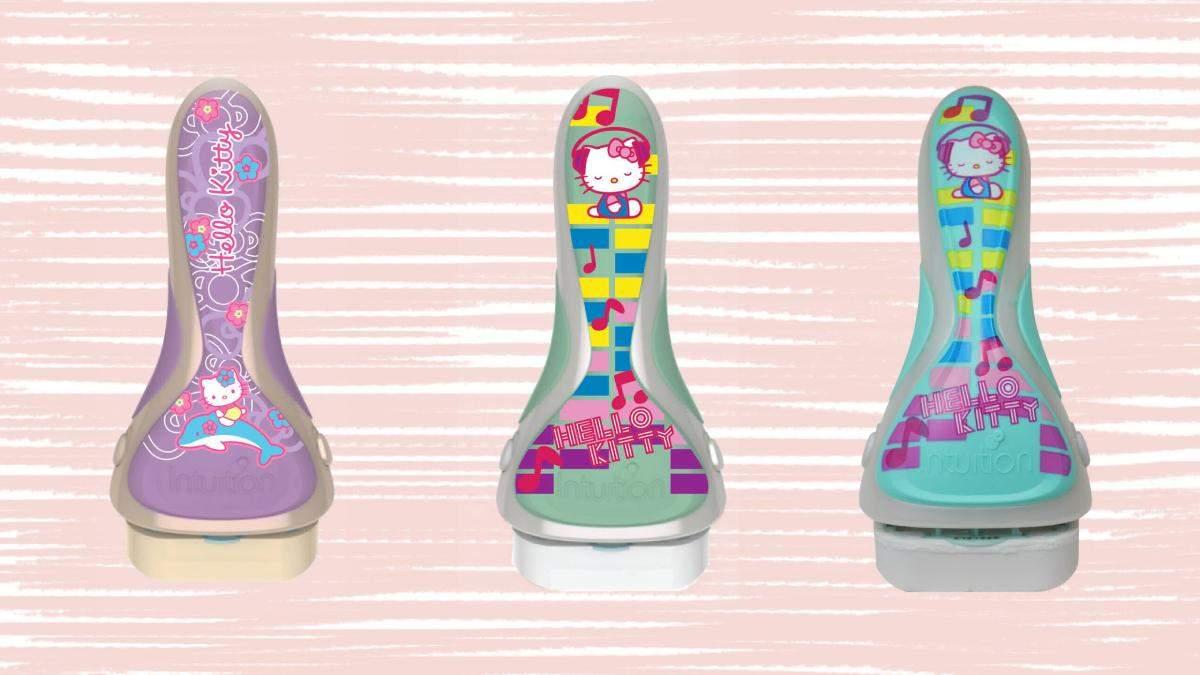 Нові милі бритви для жінок із дизайном Hello Kitty: фото