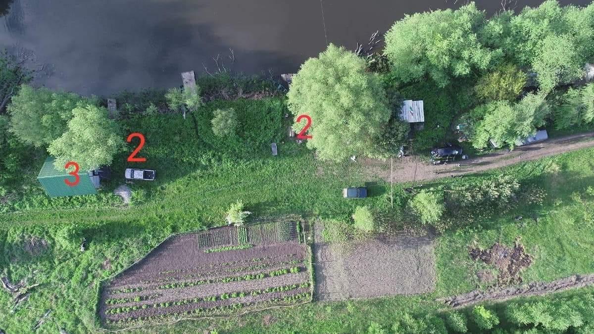 Місце масового вбивства на Житомирщині