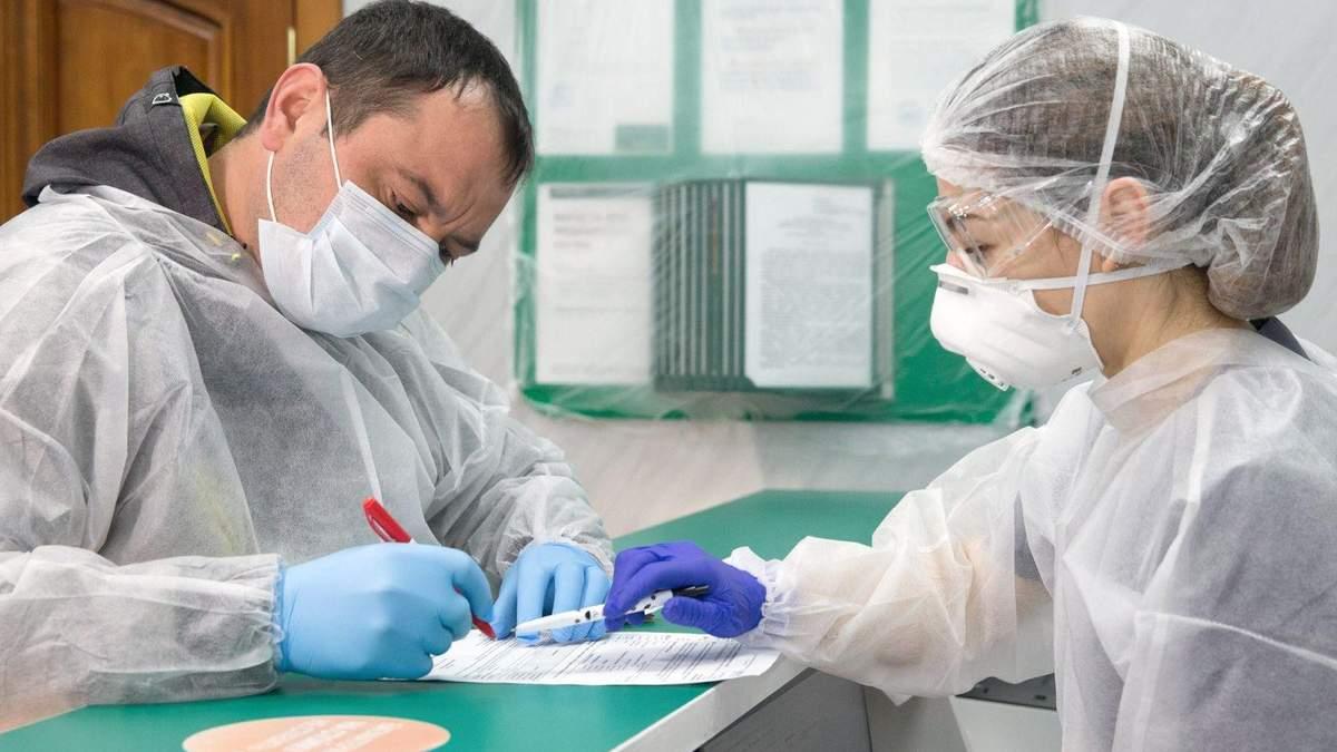 Ситуація поширення коронавірусу в Україні