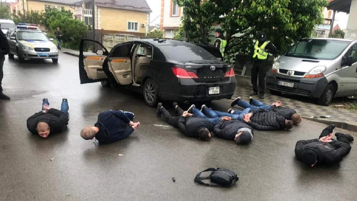 Стрельба в Броварах 29 мая 2020: видео с места перестрелки